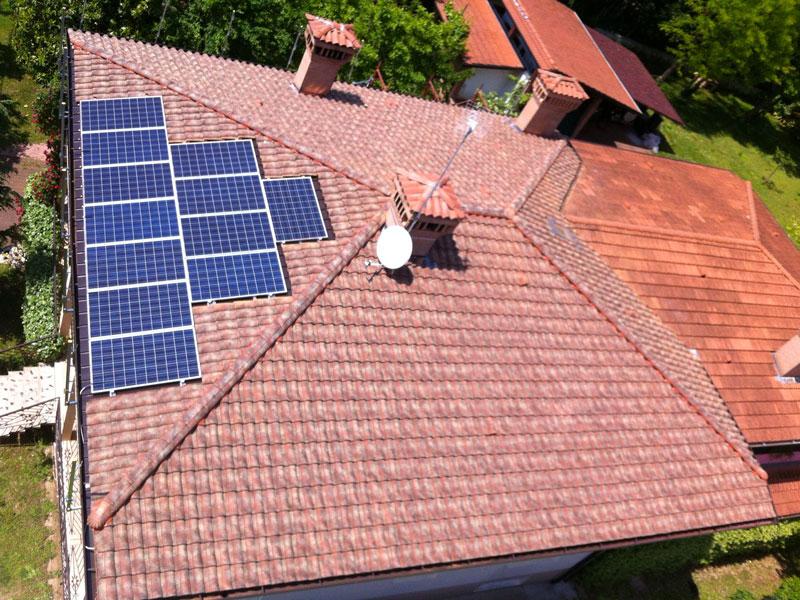 Installazione impianto fotovoltaico AR coperture